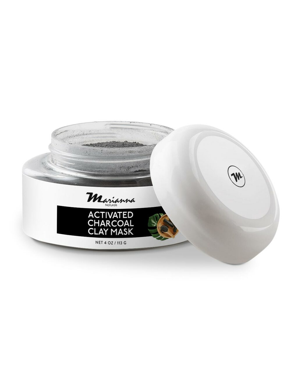 Activated Charcoal Clay Mask - Secondary Thumbnail